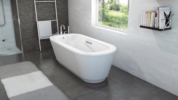 Стальная ванна BLB Universal Anatomica Oval 180x80