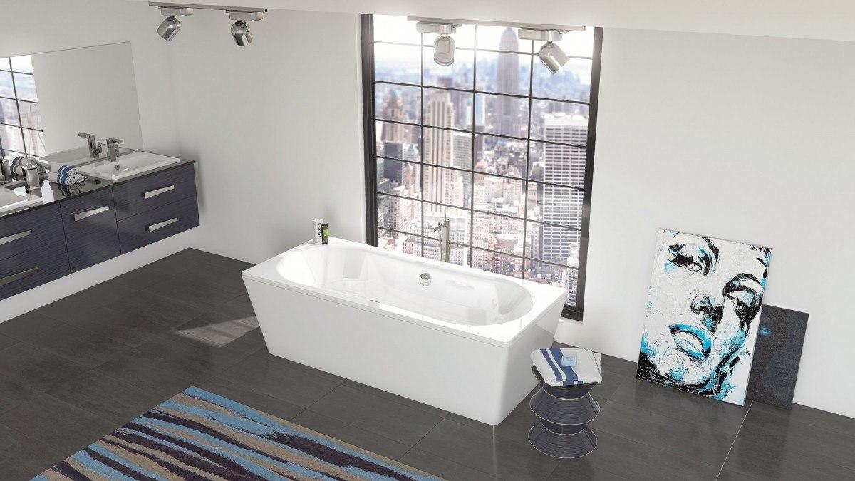 Стальная ванна BLB Duo Comfort 180x80