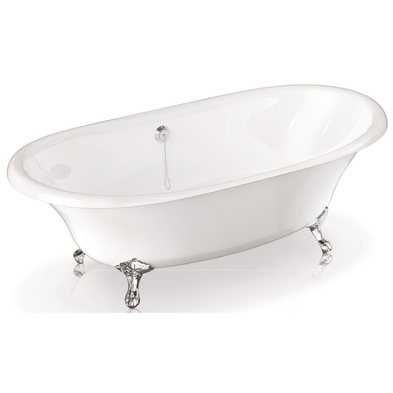Чугунная ванна BLB USA 170x85 (синий)