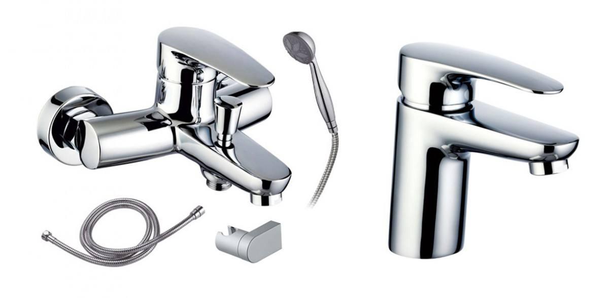 Промо-набор для раковины, ванны и душа 99145 + 98177