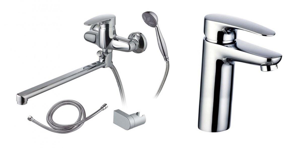 Промо-набор для раковины, ванны и душа 99185 + 98482
