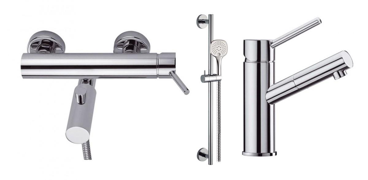 Промо-набор для раковины, ванны и душа 93510 + 97899 + 99627