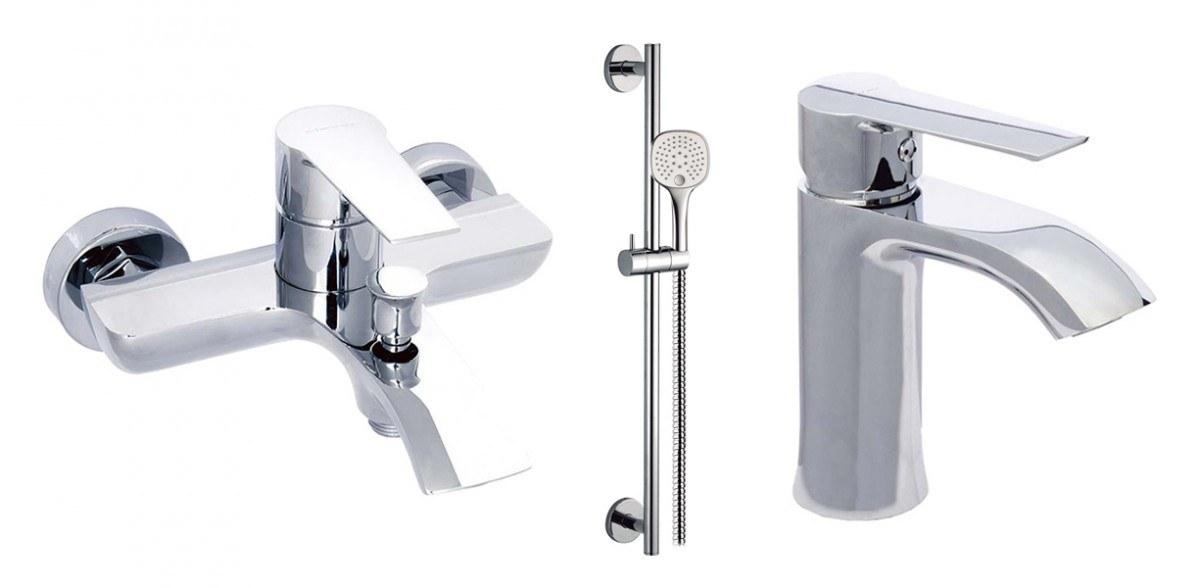 Промо-набор для раковины, ванны и душа 98680 + 98678 + 99627