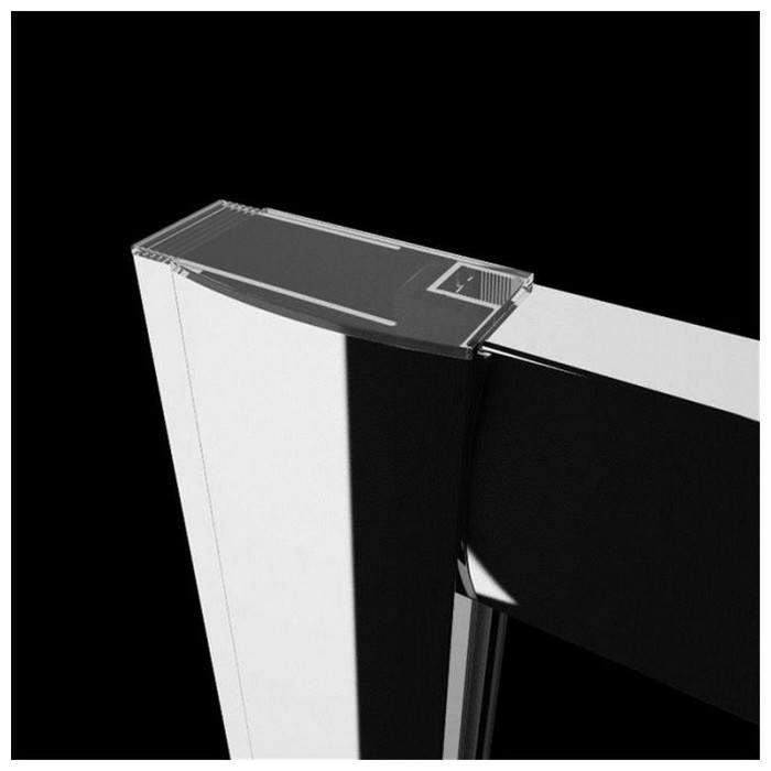 Душевая кабина Radaway Premium Plus C 80x80x170 коричневое стекло