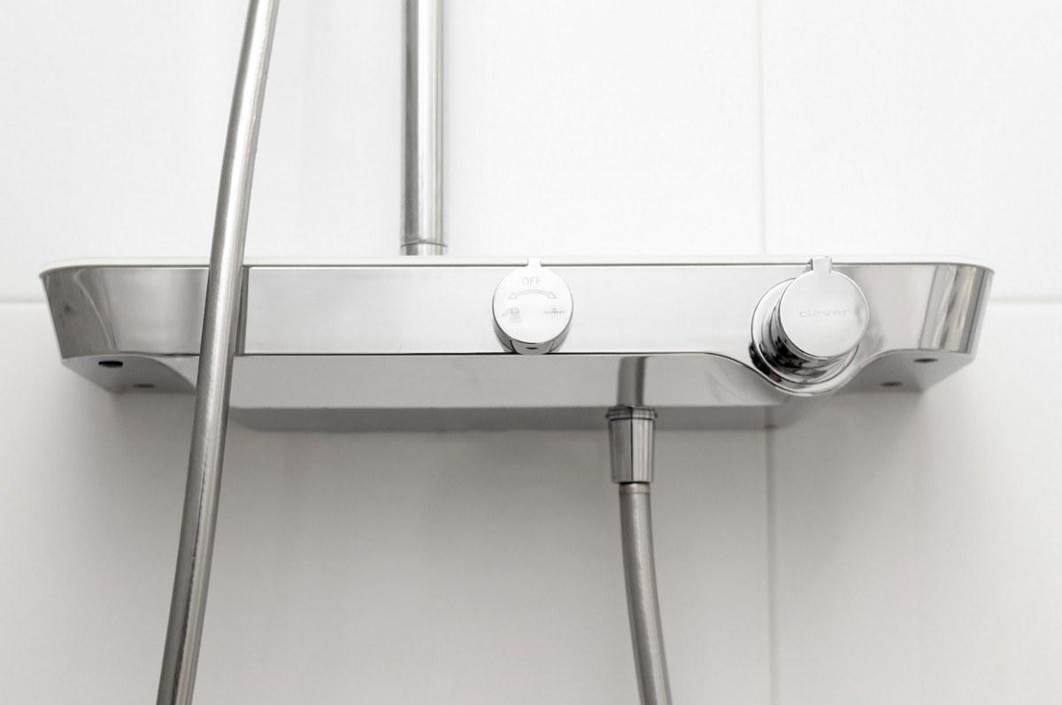 Термостатический смеситель для душа с душевым гарнитуром Clever Nine Elegance