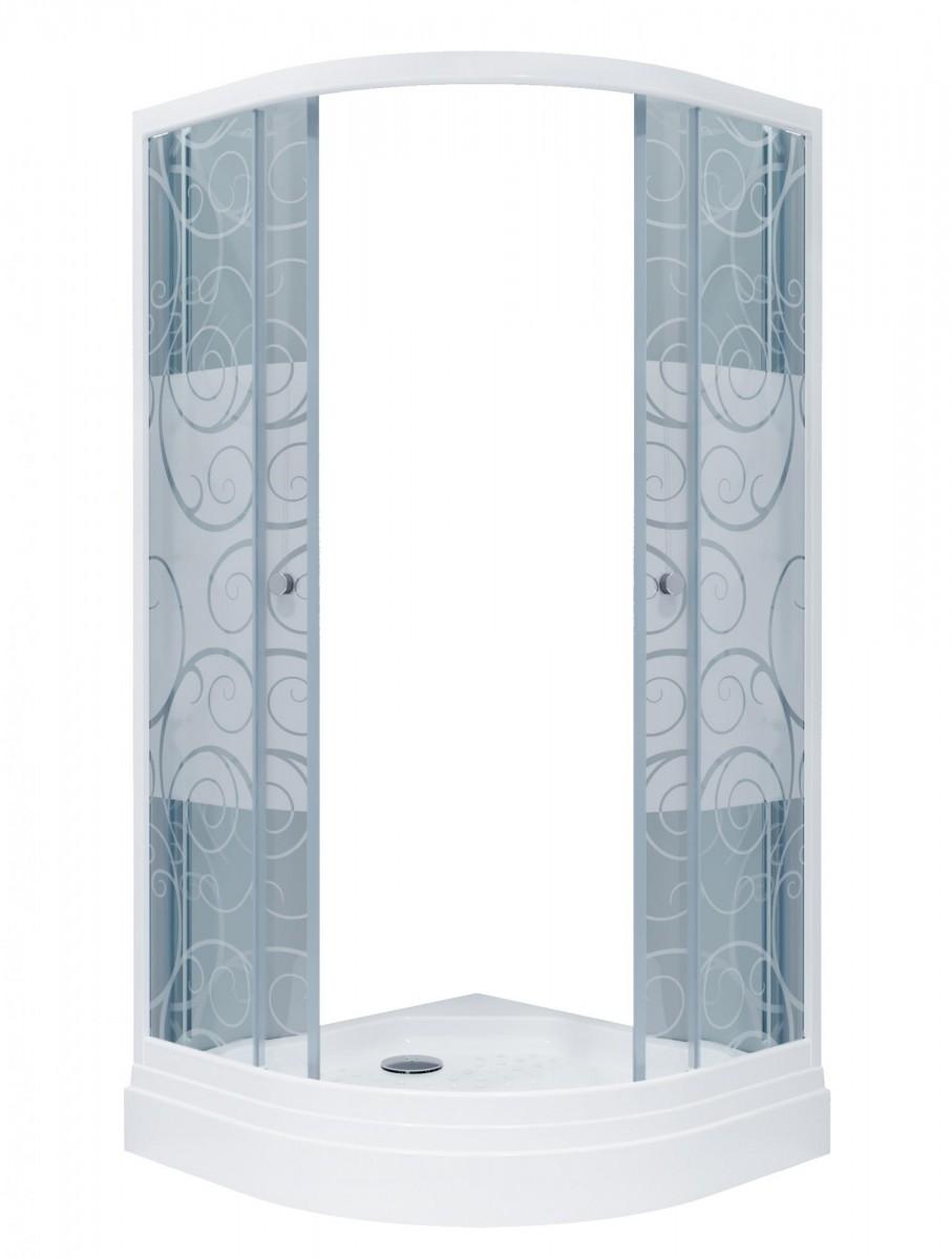 Душевой уголок Triton Стандарт А 90x90 (узоры)