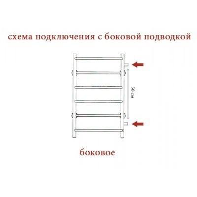 Полотенцесушитель водяной ZorG Lona 500/1000 U500