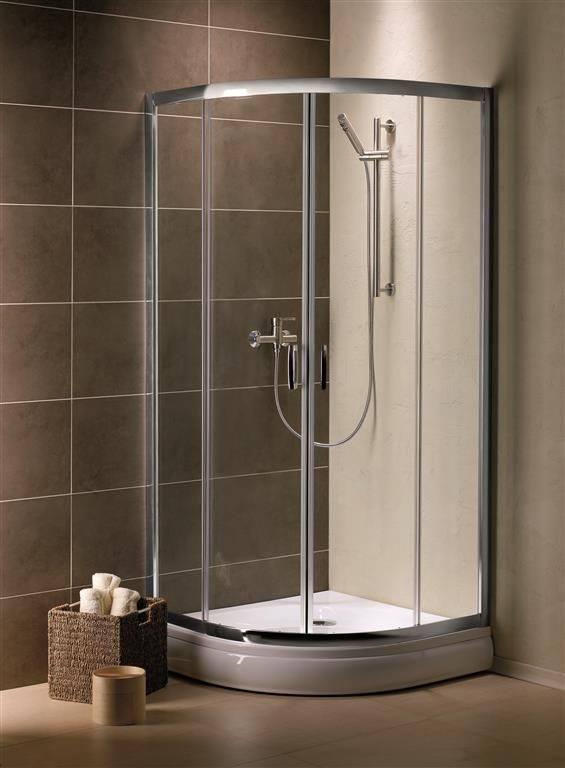 Душевой уголок Radaway Premium A 100x100x190 (стекло коричневое)
