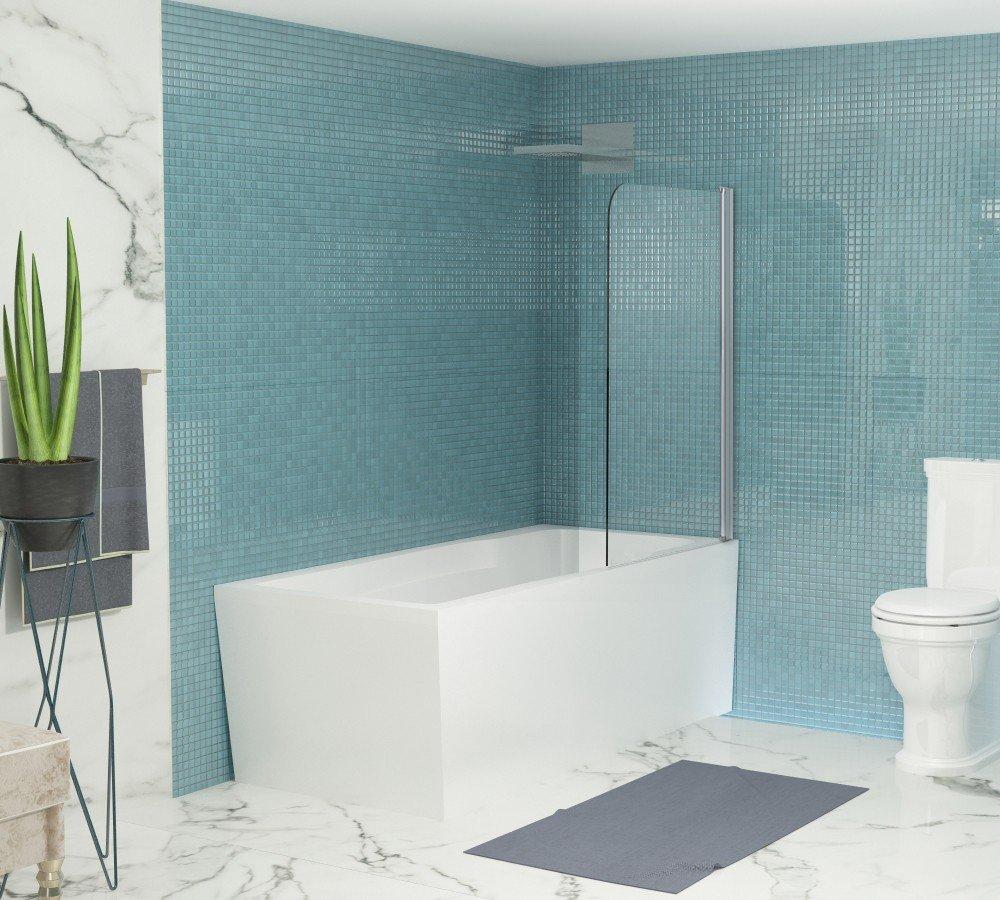 Стеклянная душевая шторка для ванны Niagara SS-148080-14