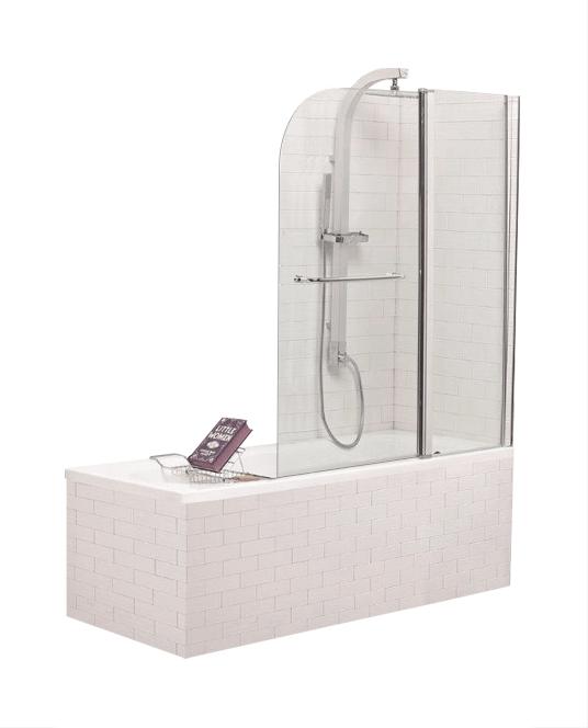Стеклянная душевая шторка для ванны Niagara SS-148120-14