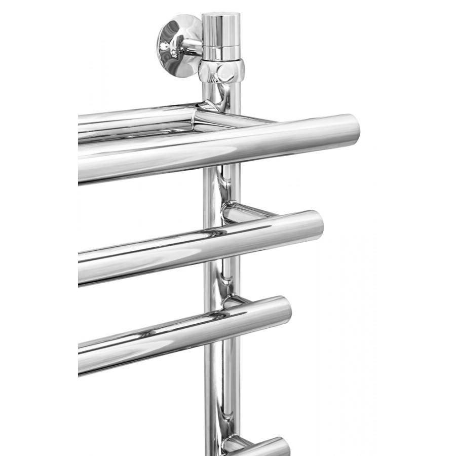 Полотенцесушитель водяной ZorG Platinum Plus 500/800 с полкой