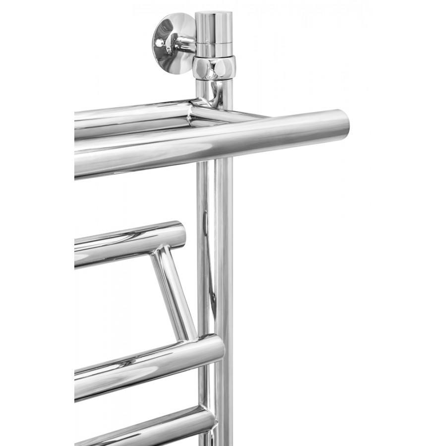 Полотенцесушитель водяной ZorG Vitra Plus c полкой 500/600 L500