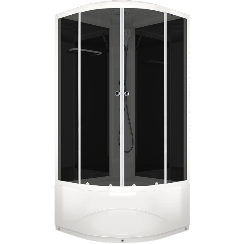 Душевая кабина Domani-Spa Delight 110 100x100 тонированное стекло