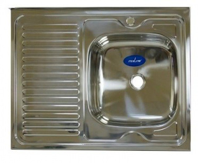 Кухонная мойка Mixline 50x80 (0,4) прав вып 1 1/2 16 см