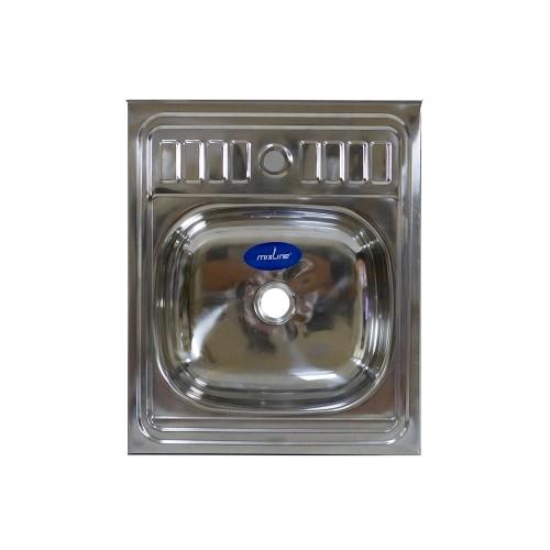 Кухонная мойка Mixline 60x50 (0,4) вып 1 1/2 16 см