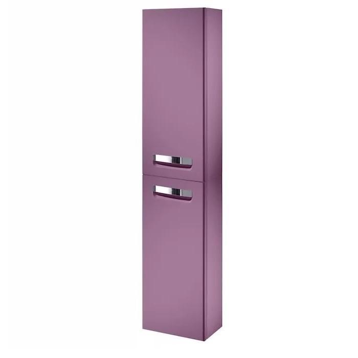 Шкаф-пенал Roca HE GAP правый фиолетовый