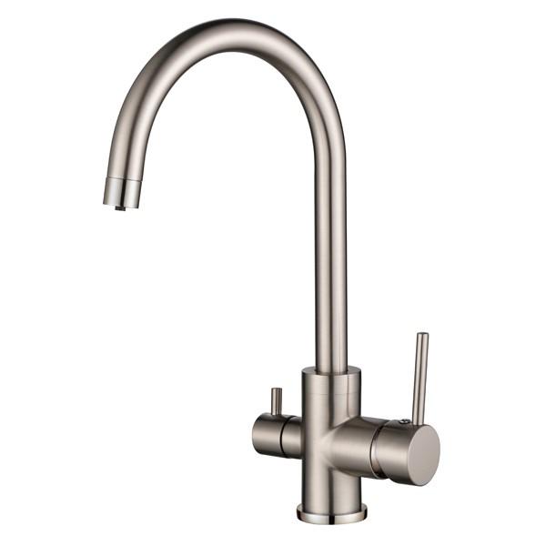 Смеситель для кухни AquaSanita Sabiaduo 2963 002 Nickel