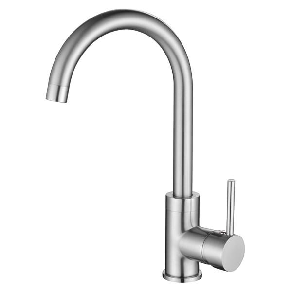 Смеситель для кухни AquaSanita Sabia 5523 002 Nickel