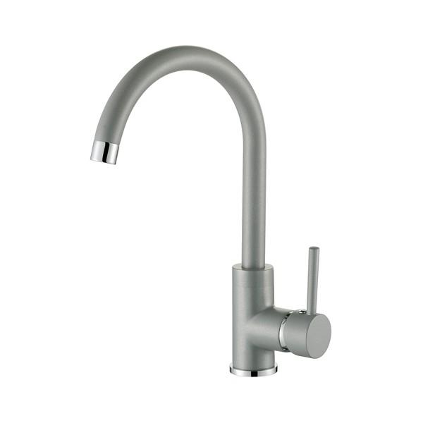 Смеситель для кухни AquaSanita Sabia 5523 202 Alumetallic