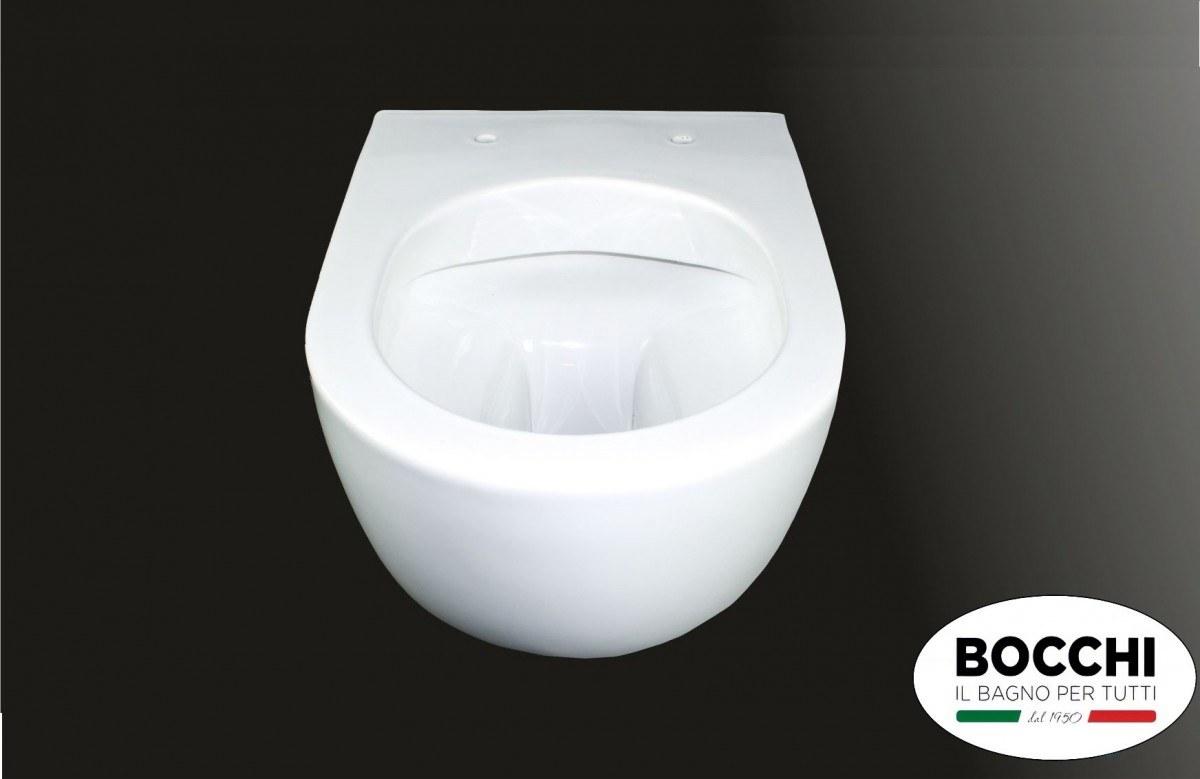 Унитаз подвесной Bocchi V-Tondo Rimless 1416-001-0129 + сидение Soft-Close A0333-001