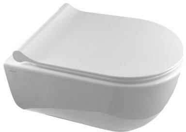 Унитаз подвесной Bocchi V-Tondo Compacto Rimless 1417-001-0129 + сиденье A0335-001