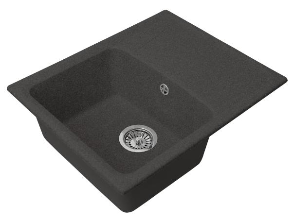 Мойка кухонная GS 17 К 308 черная