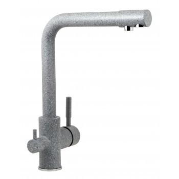 Смеситель для кухонной мойки Gran-Stone GS 105 309 тёмно-серый