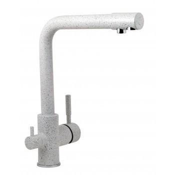 Смеситель для кухонной мойки Gran-Stone GS 105 310 серый