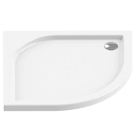 Душевой поддон New Trendy Ideo R55 80x80 см (B-0314)
