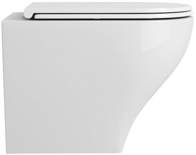 Унитаз подвесной OWL Eld Ruta Line-H 52x36 безободковый, сиденье Duroplast