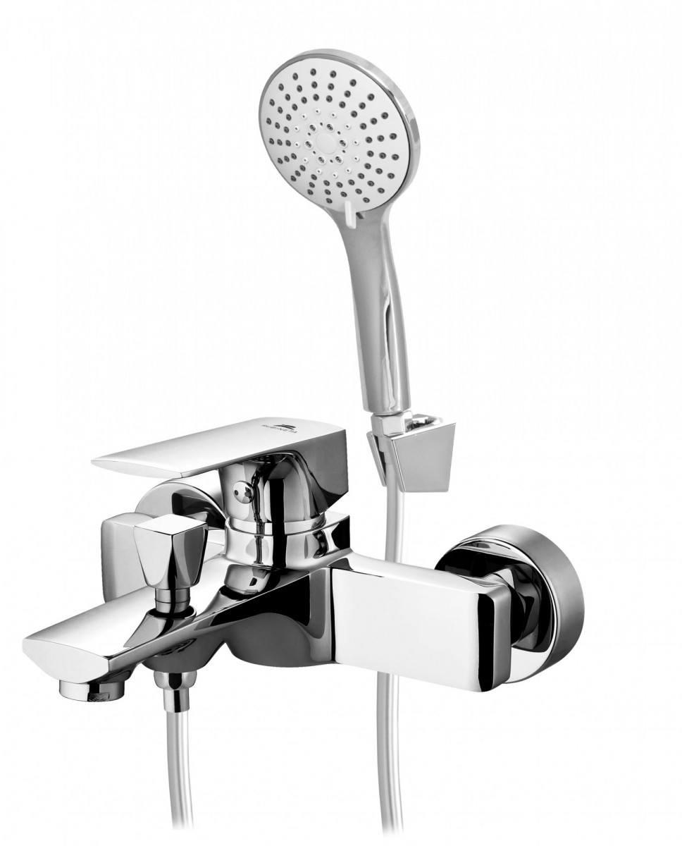 Смеситель для ванны и душа Rubineta Modena-10/K