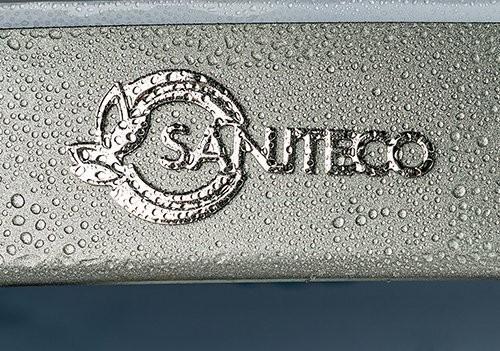 Душевая кабина Saniteco SN-8001W 100x100