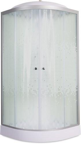 Душевая кабина Deto L 909 90x90 с электрикой (стекла матовые)