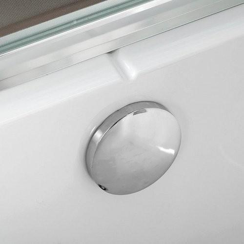Душевая кабина Deto EM4515 150x85 LED (с гидромассажем)
