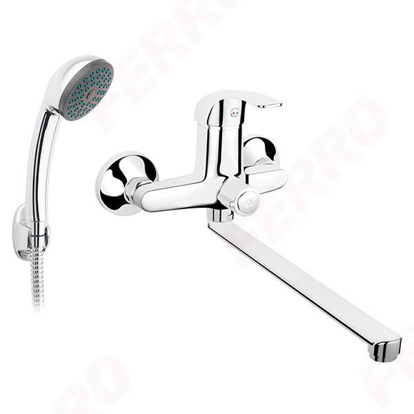 Смеситель для ванны и душа Ferro Vasto BVA55A