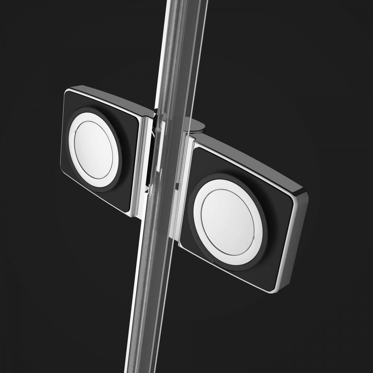 Душевой уголок Radaway Fuenta New KDJ+S 120x80 прозрачное/хром