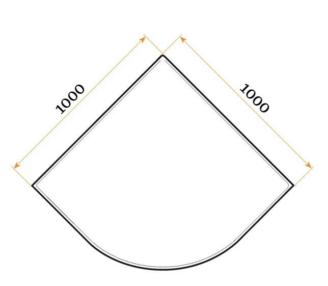Душевой уголок Niagara 100x100 NG-110022-14