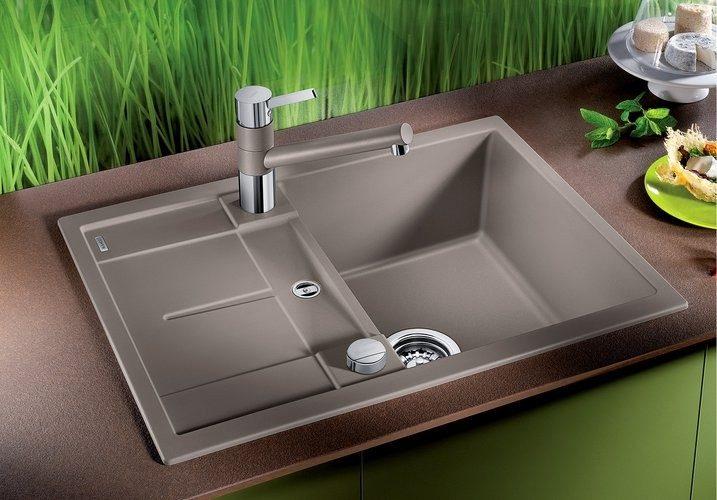 Кухонная мойка Blanco METRA 45 S Compact 68x50 жасмин