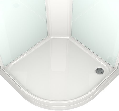 Душевая кабина Domani-Spa Delight 99 90x90 тонированное стекло / черные стенки