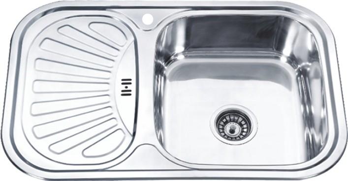 Стальная кухонная мойка Ledeme L67549-R