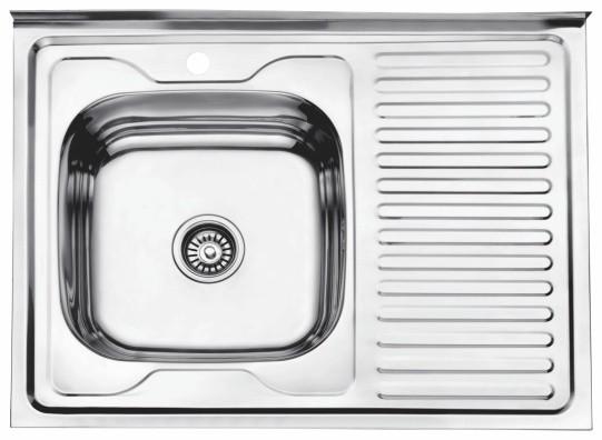 Стальная кухонная мойка Ledeme L68060-6L