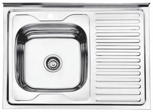 Стальная кухонная мойка Ledeme L68060-L