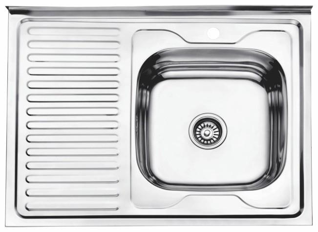 Стальная кухонная мойка Ledeme L68060-R
