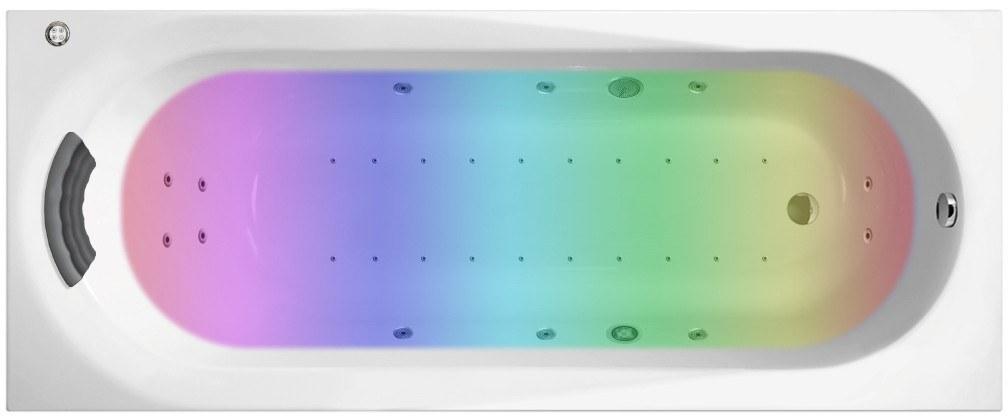 Гидро-аэромассажная акриловая ванна Lavinia Boho Biore 150x70 36022HAC