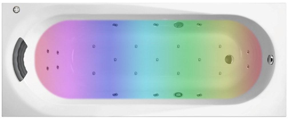 Гидро-аэромассажная акриловая ванна Lavinia Boho Biore 160x70 36020HAC