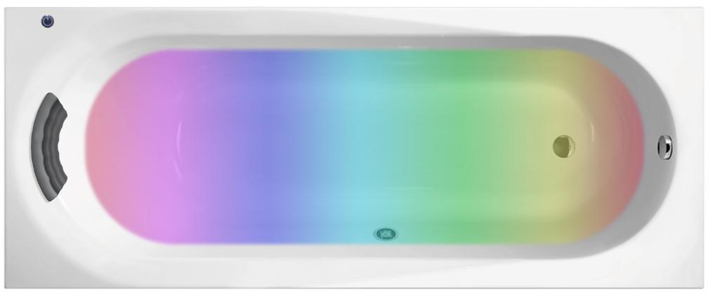 Акриловая ванна с хромотерапией Lavinia Boho Biore 160x70 3600800C
