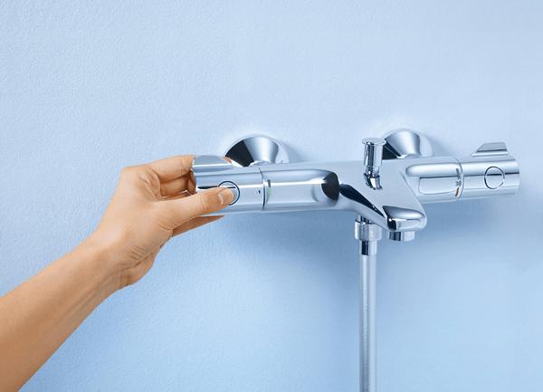 Термостатический смеситель для ванны и душа Grohe Grohtherm 800 34567000