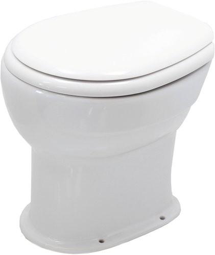 Унитаз приставной Керамин Дачный Premium 36,5x44 сиденье полипропилен