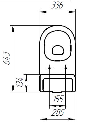 Напольный унитаз CERSANIT GRANTA 031 / KO-GRA031-3/6-DL-n-w