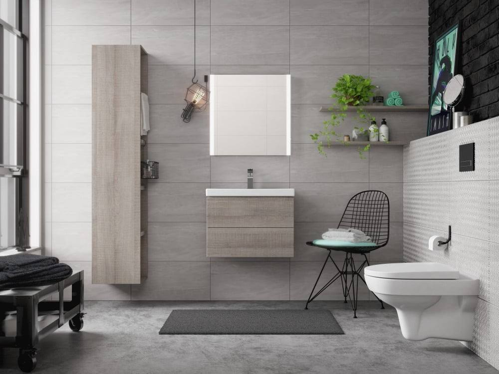 Комплект CERSANIT CITY NEW CLEAN ON SLIM SET-CITYC/LPRO/S-DL/In-Wg-w